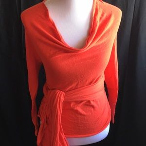 Wrap around sweater in size S nwot